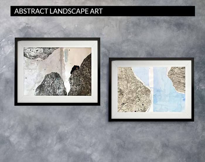 Machourek Art abstract landscapes